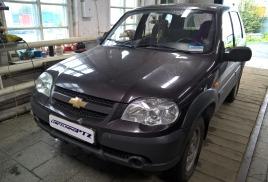 Чип-тюнинг Chevrolet-Niva 1.7л